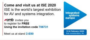 OMB at ISE 2020