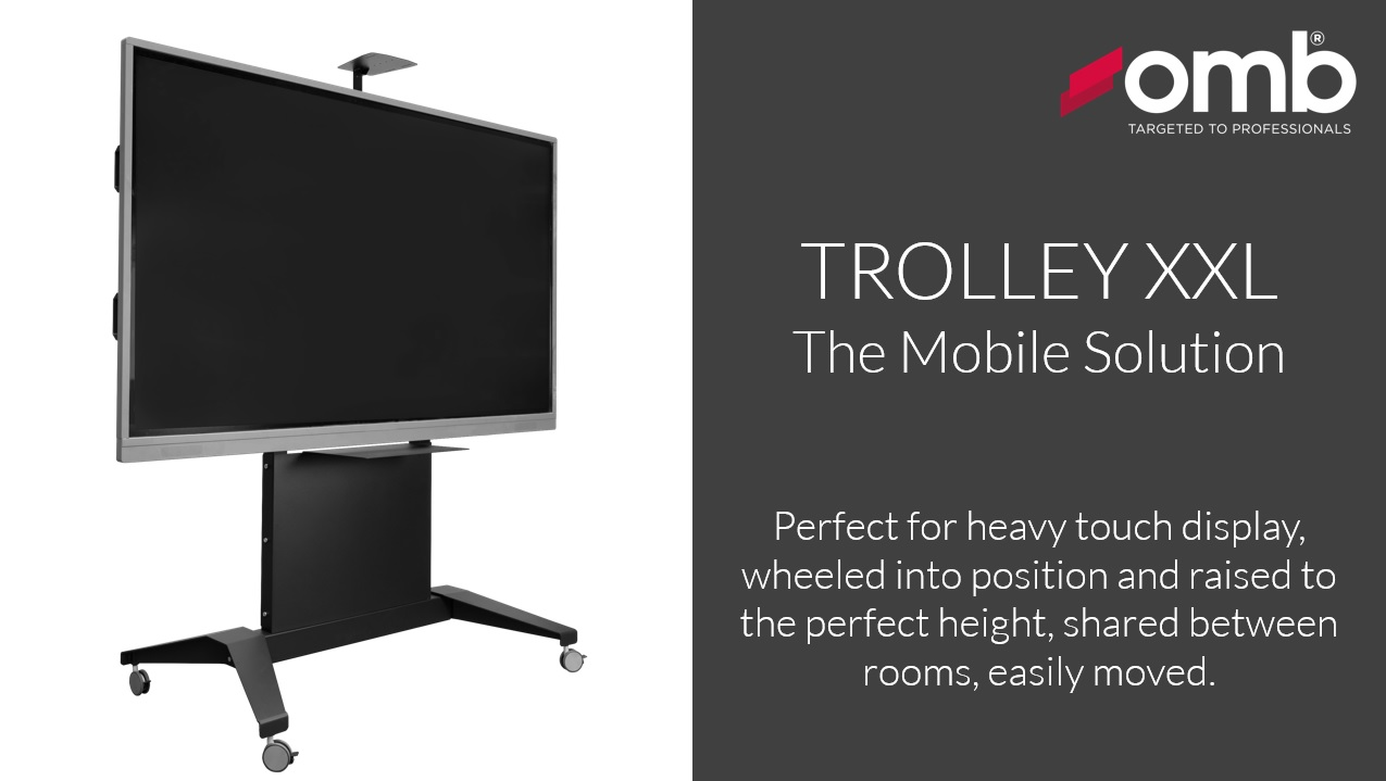 OMB announces the new XXL TROLLEYS series