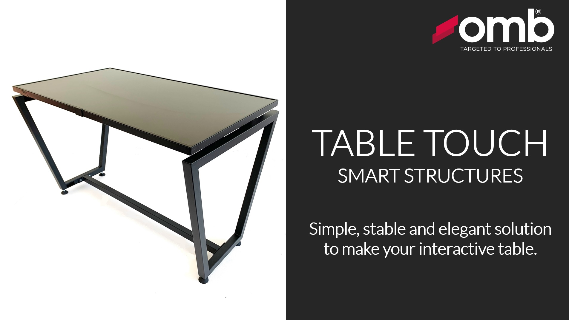 TABLE TOUCH LEGS ideale per Collaboration Rooms